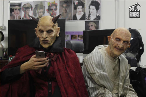 Devils - silicon prosthetic makeup